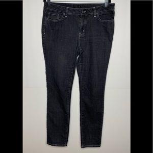 Prana Gray Denim Jeans Size 12/31